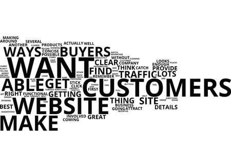 YOU VE GOT THE WEB TRAFFIC NOW GET THE BUYERS Text Background Word Cloud Concept