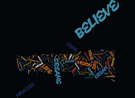 BELIEVE IT YOU ARE WHAT YOU EAT Text Background Word Cloud Concept