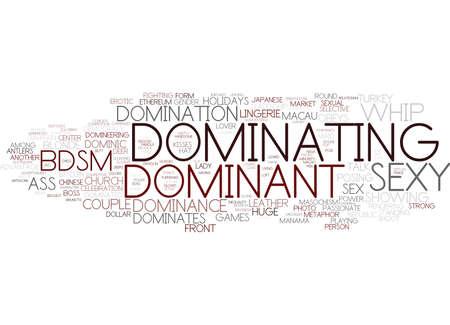 dominante woordwolkconcept