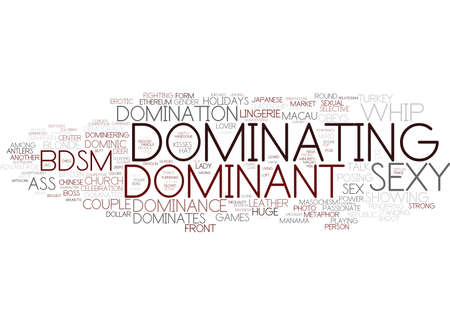 dominating word cloud concept