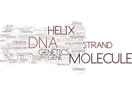 DNA 단어 구름 개념