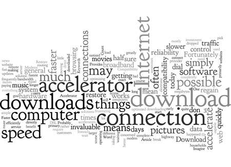 Accelerator Software Provides a Faster Download