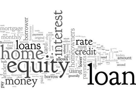 Advantages of a Home Equity Loan Ilustrace