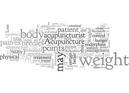 Acupuncture for Effective Weight Loss