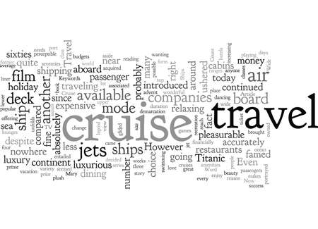 A Wide Variety Of Cruise Ships