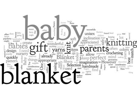 A Knit Blanket is One of The Best Baby Gifts