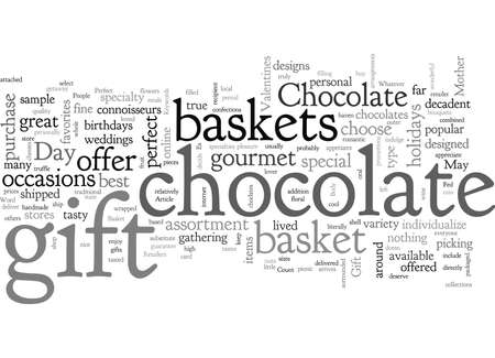 A Gourmet Chocolate Gift Basket Is The Perfect Gift