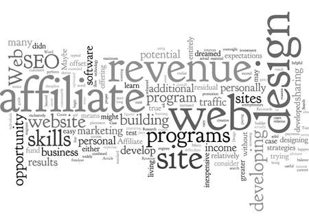 Affiliate Revenue A Web Design Test Case