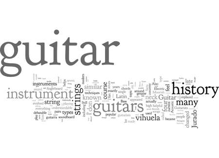 A Look At The History Of The Guitar