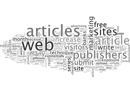 Advertise to millions Write articles