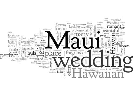 A Marriage Made in Maui Heaven