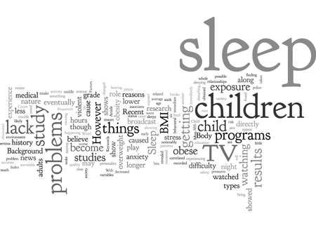 Das Schlafnetz eines Kindes Vektorgrafik