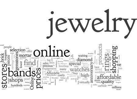 Affordable jewelry a click away 写真素材 - 131982546