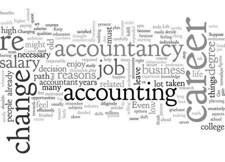 Accountancy Career Change