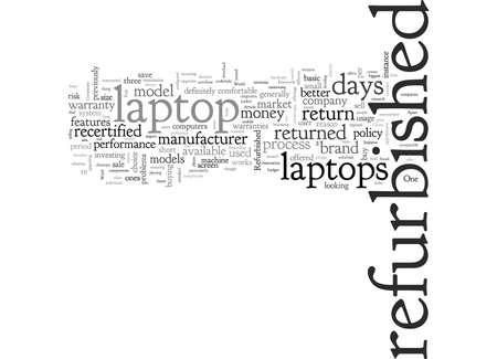 Un aperçu du monde des ordinateurs portables remis à neuf