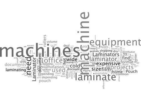 Ein Leitfaden zum Rabatt von Laminator-Produkten Vektorgrafik