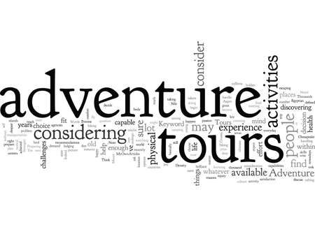 Adventure Tours Illustration