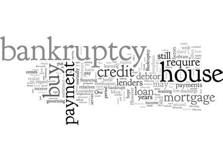 A Few Helpful Tips On How To Buy A House After Bankruptcy 版權商用圖片 - 132107627