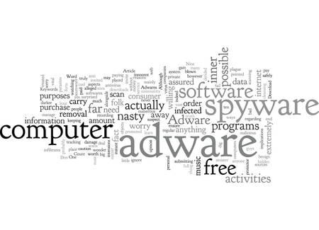 Adware spyware both have nasty intensions