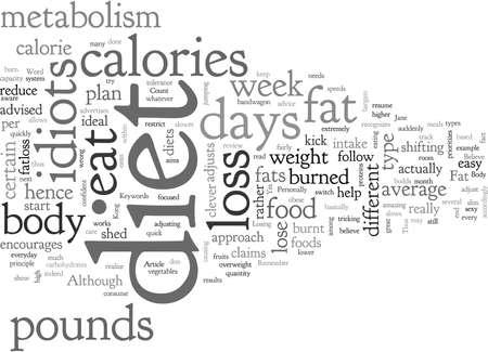 Una revisione della dieta degli idioti dimagranti
