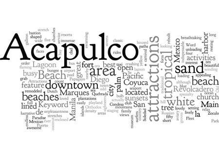 Acapulco Attractions Foto de archivo - 132107671