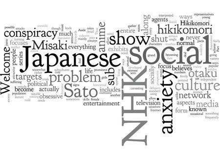 A Brief Glimpse Into Welcome To The NHK Ilustração