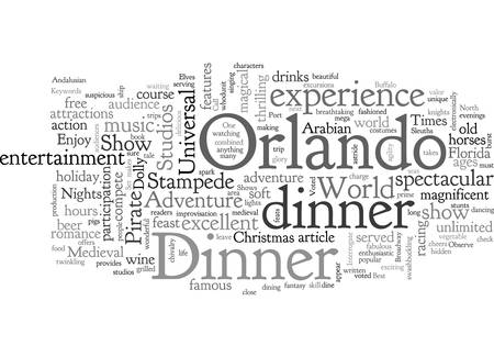 A peek at the Other Orlando Stock Illustratie