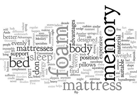 Advantages of the Memory Foam Mattress