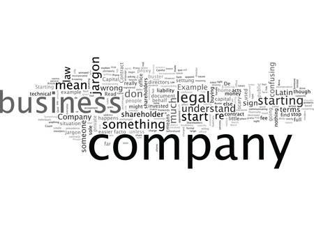 A Company Law Jargon Buster