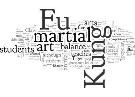 A Look At Kung Fu Vektorové ilustrace