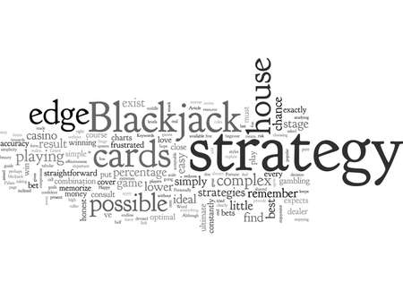 A Simple Stage Blackjack Strategy