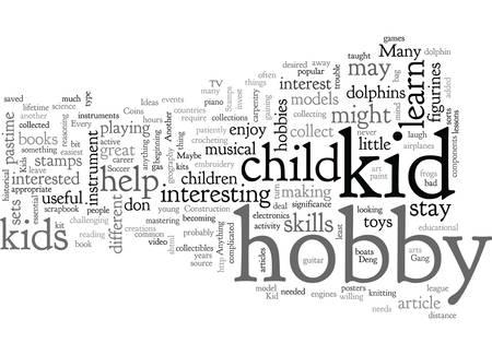 A Wealth of Kid Hobby Ideas Illustration