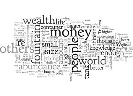 A Few Simple Things You Must Do If You Want To Be Wealthy Vektoros illusztráció