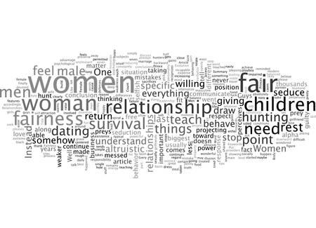 Über Fairness und weibliche Beziehungen