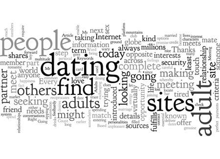 A platform for adults to date