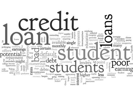 A Look at Bad Credit Student Loans