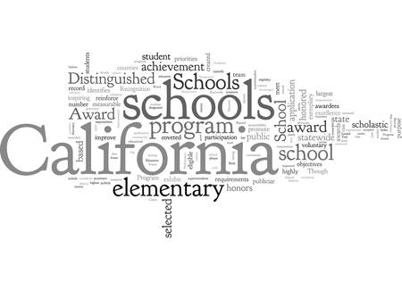 A Record California Schools Honored With The Distinguished School Award