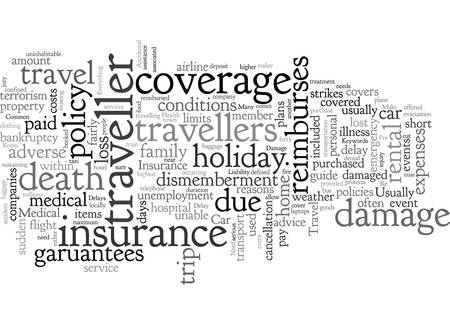 A short guide to travel insurance Illustration
