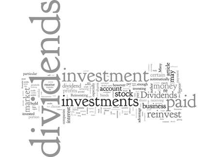 A Guide to Dividends and Reinvestment