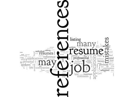 A Resume Reference Guide Çizim