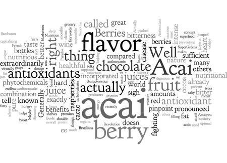 Acai Berries Are The New Superfruit 向量圖像