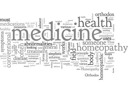 A Comparative Look Between Orthodox And Homeopathic Medicine