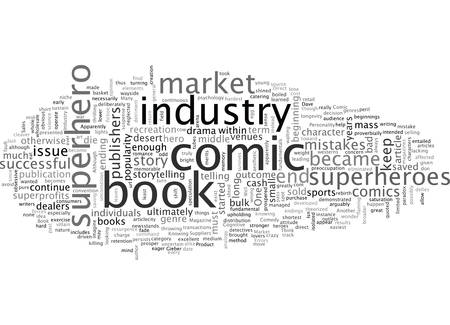 A Comedy of Comic Book Industry Errors Stock Vector - 132107926