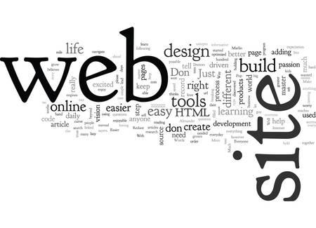 Un moyen beaucoup plus simple de créer votre propre site Web Vecteurs