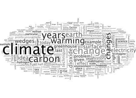 A new science for a new climate Stock Vector - 132108413
