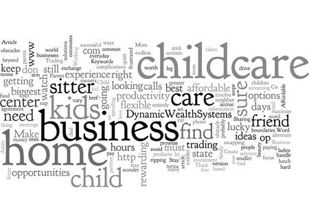 Affordable Child Care options for the Stay at Home Business Parent