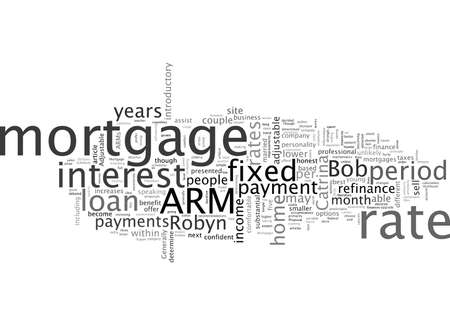 Adjustable vs Fixed Rate Mortgages