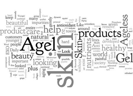 Agel Ageless Skin Care How to Look Younger than Ever Without Any Painful Procedures 版權商用圖片 - 132108467