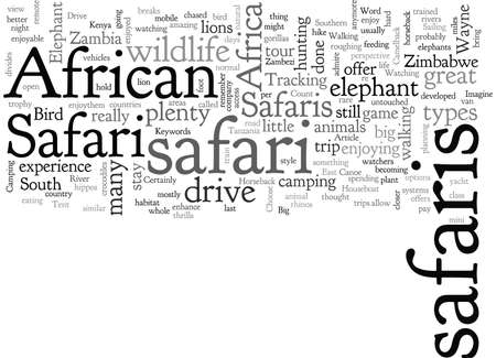 African Safaris What Kind Are There