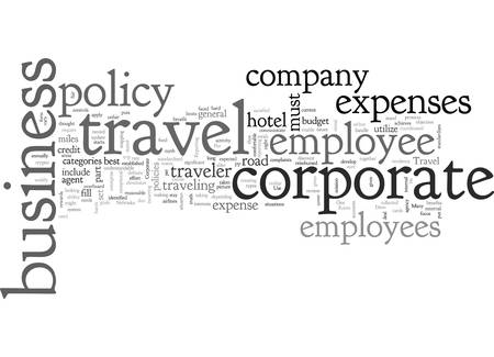 A Corporate Travel Policy that Works